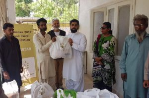 Food Packs Distributed in Pakistan