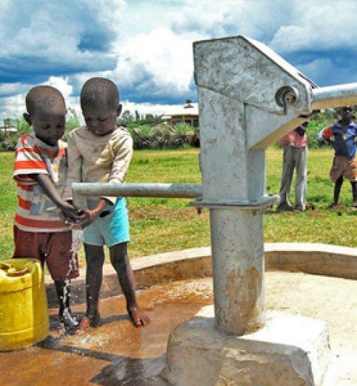 Water well in Sri Lanka